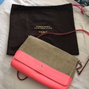 Bright Coral Kate Spade Bag
